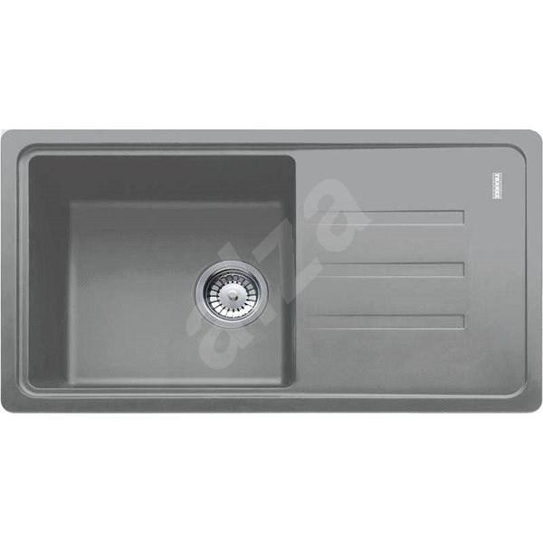 FRANKE BSG 611-78/39  780x435 šedý kámen - Granitový dřez