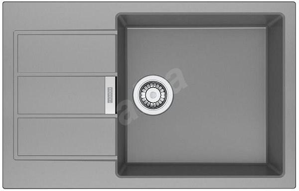 FRANKE SID 611-78/45 BB šedý - Tectonitový dřez