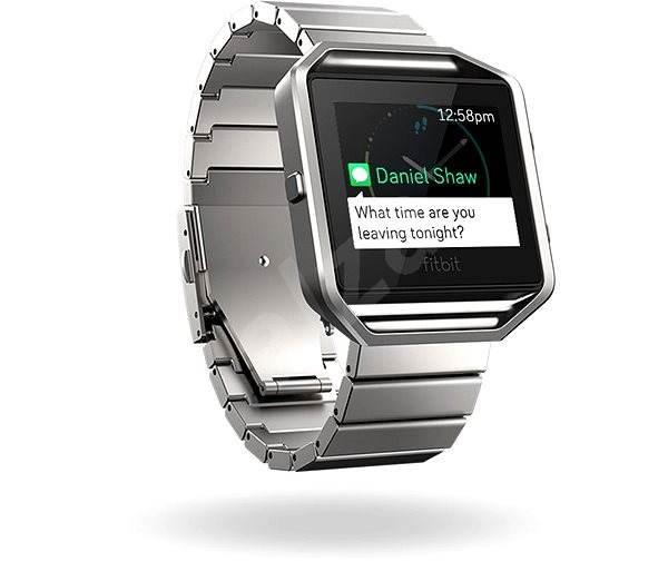 Fitbit Blaze Metal Link Silver - Řemínek