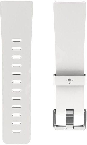 Fitbit Versa Classic Accessory Band, White, Small - Řemínek