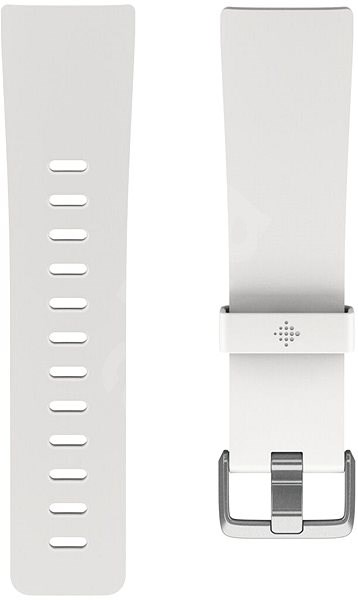 Fitbit Versa Classic Accessory Band, White, Large - Řemínek