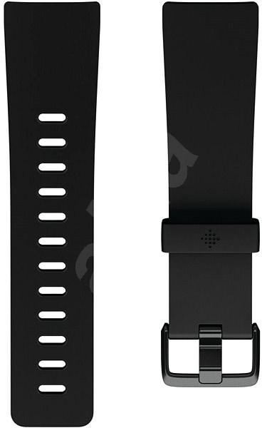Fitbit Versa Classic Accessory Band, Black, Large - Řemínek