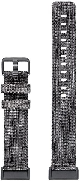 Fitbit Charge 3 Accessory Band Woven Charcoal Small - Řemínek