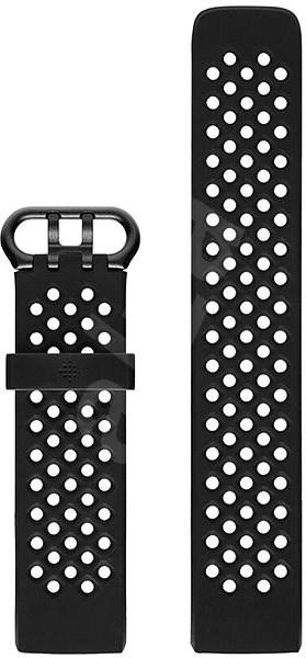 Fitbit Charge 3 Accessory Sport Band Black Small - Řemínek