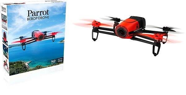 Parrot Bebop Red - Dron