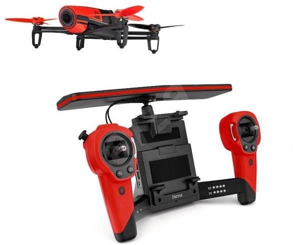 Parrot Bebop Skycontroller Red - Dron