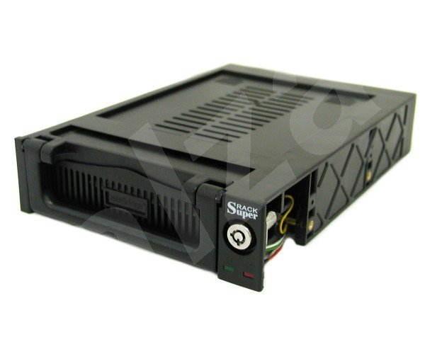 Výměnný rámeček + HotSwap šuplík s větrákem černý (black) MR-10KPF-66 ATA/66/100 -