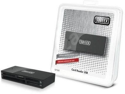 Sweex CR180 černá - Čtečka karet