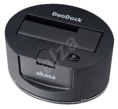 AKASA DuoDock - Externí dokovací stanice