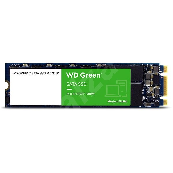 WD Green 3D NAND SSD 480GB M.2 - SSD disk