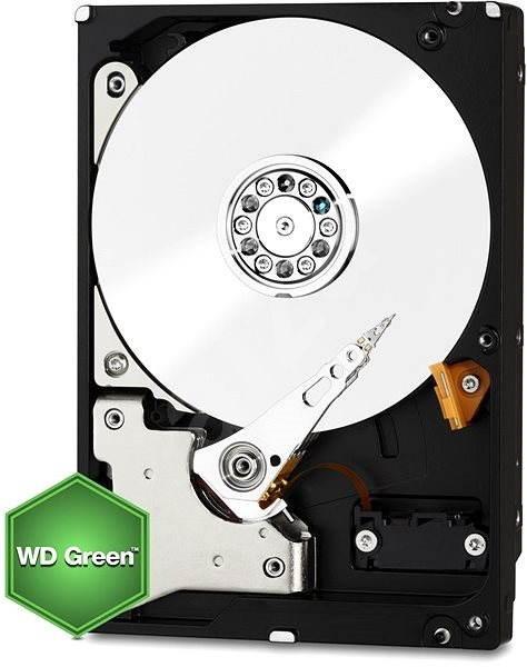 WD Green 2TB 64MB cache - Pevný disk