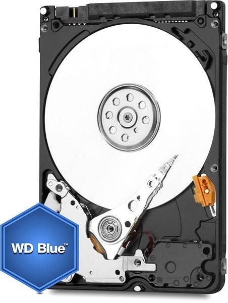 """WD 2.5"""" Blue Mobile 250GB 8MB cache s Advanced Format - Pevný disk"""