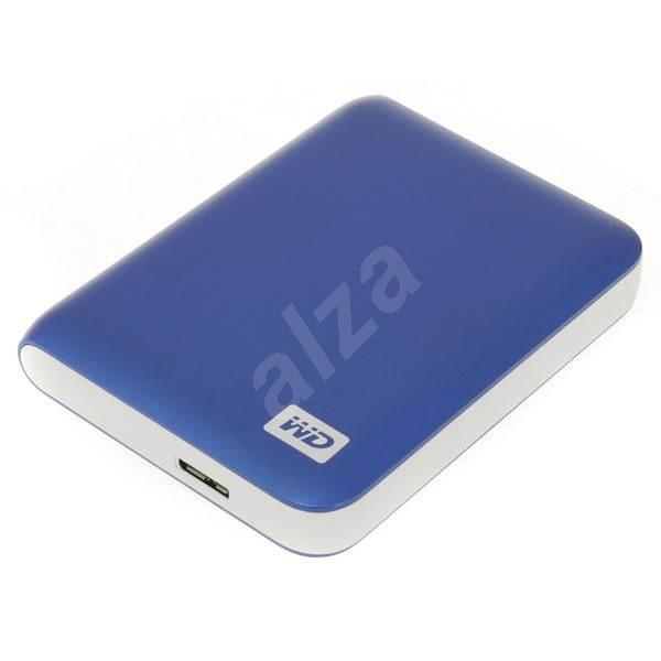 "WD 2.5"" My Passport Essential SE 750GB Modrý - Externí disk"