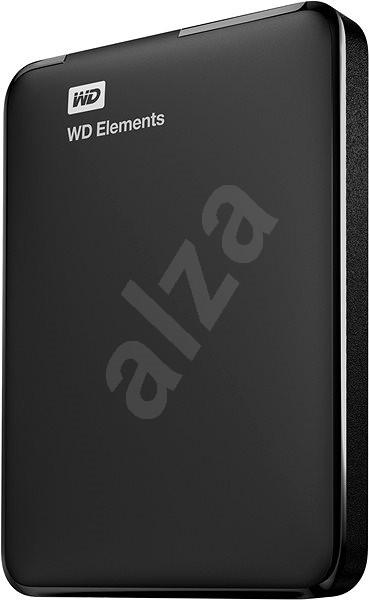 "WD 2.5"" Elements Portable 500GB černý - Externí disk"