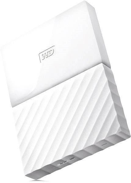 """WD 2.5"""" My Passport 1TB bílý - Externí disk"""