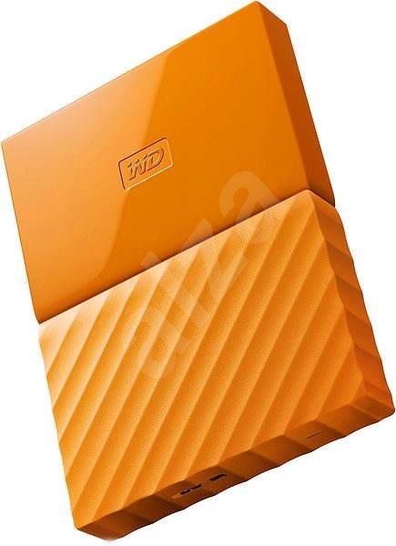 """WD 2.5"""" My Passport 1TB oranžový - Externí disk"""