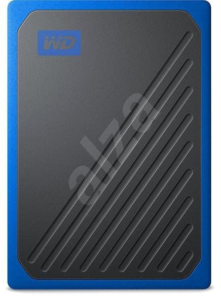 WD My Passport GO SSD 500GB modrý - Externí disk