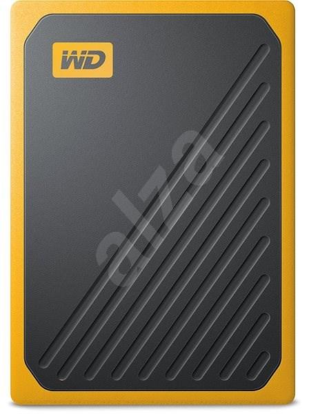 WD My Passport GO SSD 1TB žlutý - Externí disk