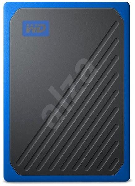 WD My Passport GO SSD 2TB modrý - Externí disk