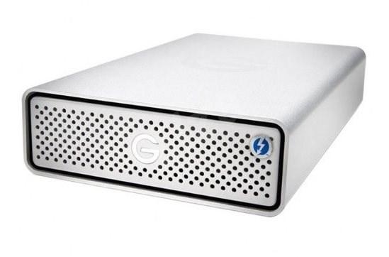 G technology G-DRIVE Thunderbolt 3, 6TB, Stříbrná - Externí disk