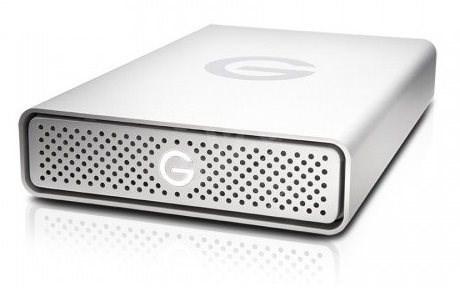 G technology G-DRIVE 8TB, Stříbrná - Externí disk