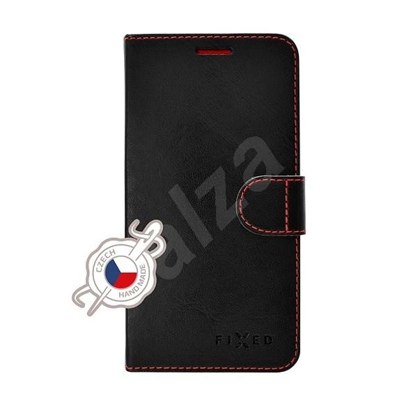 FIXED FIT pro Apple iPhone 5/5S/SE černé - Pouzdro na mobilní telefon