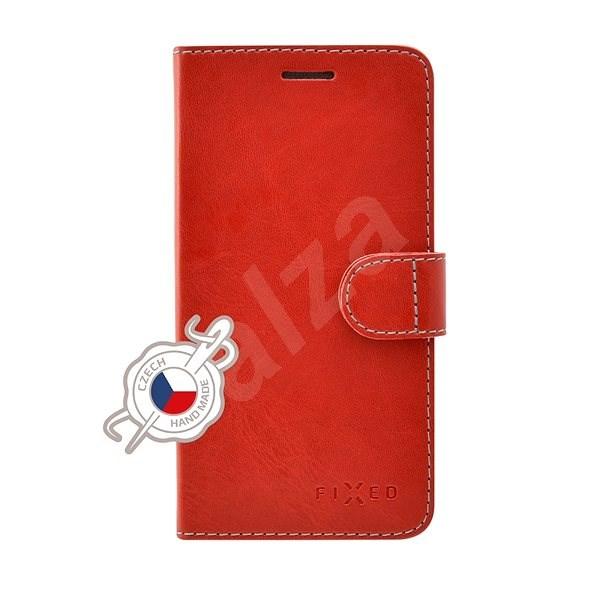 FIXED FIT pro Samsung Galaxy A8 (2018) červené - Pouzdro na mobilní telefon