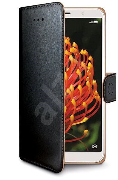 CELLY Wally pro Huawei Y6 prime (2018) černé - Pouzdro na mobilní telefon