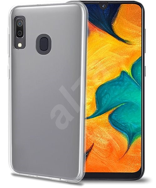 CELLY Gelskin pro Samsung Galaxy A40 bezbarvé - Kryt