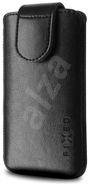 FIXED Sarif XL černé - Pouzdro na mobilní telefon