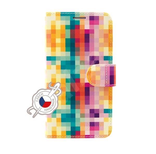 FIXED FIT pro Huawei P30 Lite motiv Dice - Pouzdro na mobilní telefon