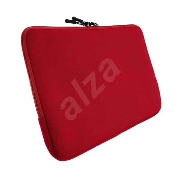 """FIXED Sleeve pro notebooky o úhlopříčce do 13"""" červené - Pouzdro na notebook"""