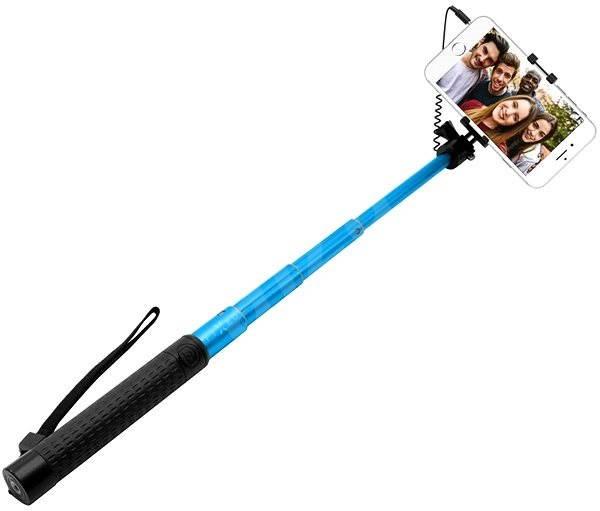 FIXED FIXSS modrá - Selfie tyč