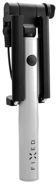 FIXED Snap Mini stříbrný - Selfie tyč