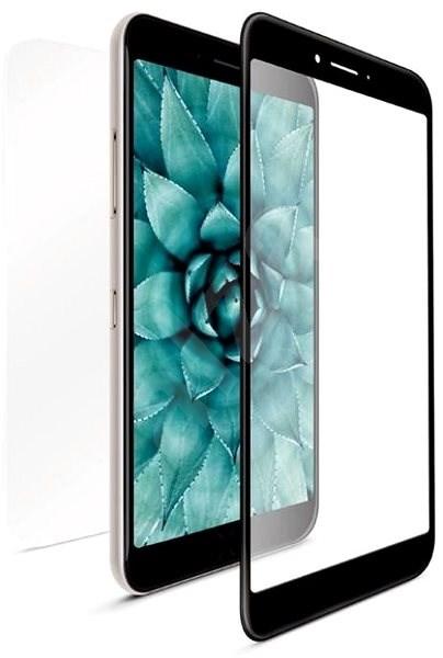 FIXED pro přední a zadní stranu Apple iPhone 7 Plus/8 Plus vesmírně šedé - Ochranné sklo