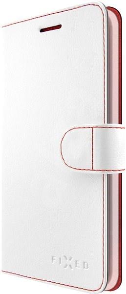 FIXED FIT pro Huawei Y6 Prime (2018) bílé - Pouzdro na mobilní telefon
