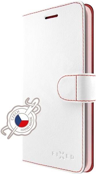 FIXED FIT pro Huawei Nova 3 bílé - Pouzdro na mobilní telefon