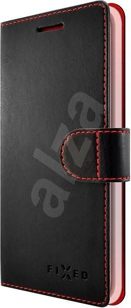 FIXED FIT pro Samsung Galaxy J4+ černé - Pouzdro na mobilní telefon