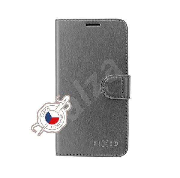 FIXED FIT Shine pro Samsung Galaxy A40 antracitové - Pouzdro na mobilní telefon