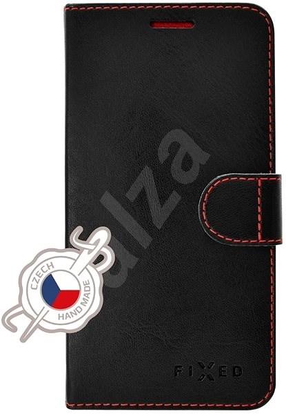 FIXED FIT pro Samsung Galaxy A40 černé - Pouzdro na mobilní telefon
