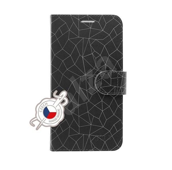 FIXED FIT pro Samsung Galaxy A50 motiv Grey Mesh - Pouzdro na mobilní telefon