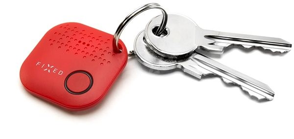 FIXED Smile červený - Bluetooth lokalizační čip