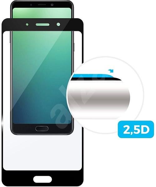 FIXED FullGlue-Cover pro Huawei Y6 Prime (2018) černé - Ochranné sklo