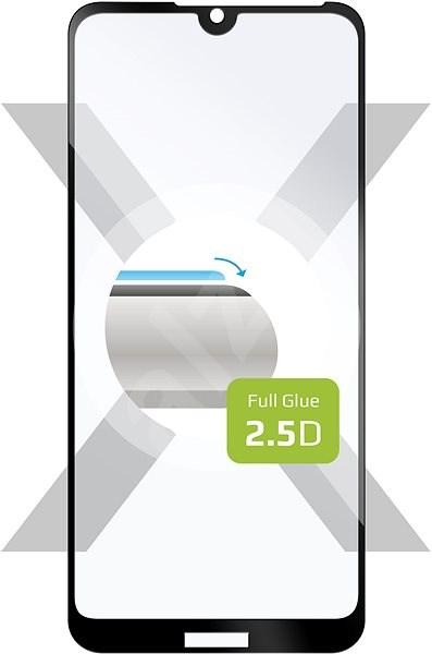 FIXED FullGlue-Cover pro Huawei Y5 (2019) černé - Ochranné sklo