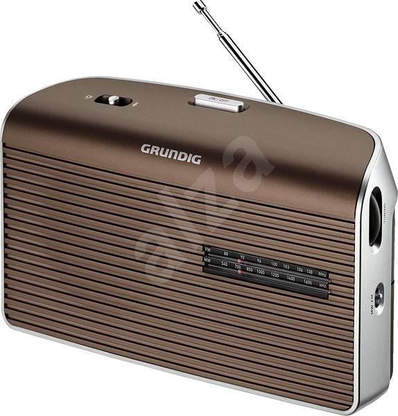 GRUNDIG Music 60 hnědá - Rádio