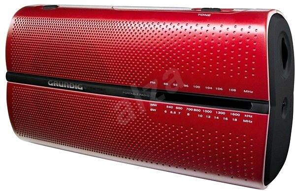 GRUNDIG RP 5200 červené - Rádio
