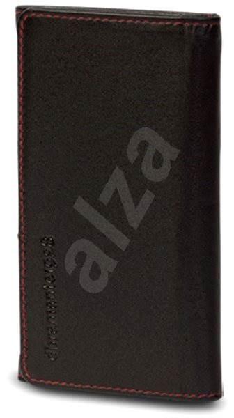 """d.bramante1928 Leather Wallet 'closed' 4.3"""", Smooth black, černé - Pouzdro na mobilní telefon"""