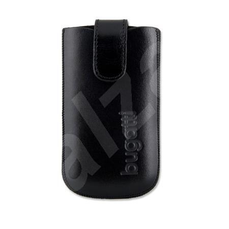 Bugatti Slim Case Leather L černé - Pouzdro na mobilní telefon