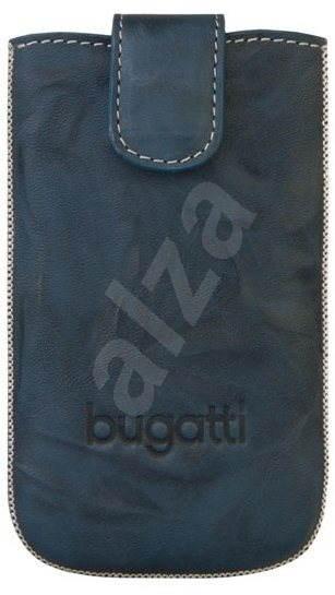 Bugatti Slim Case Leather Unique 2011 SL modré - Pouzdro na mobilní telefon