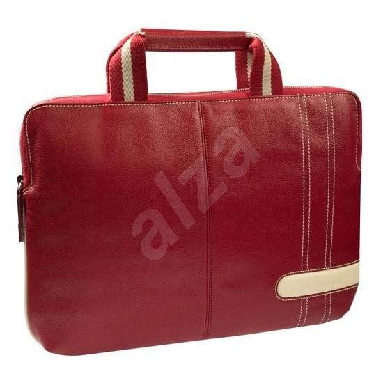 """Krusell GAIA Laptop Slim 15.6"""" červená - Brašna na notebook"""